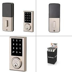 Kwikset Limited Edition Single-Cylinder Satin Nickel Contemp