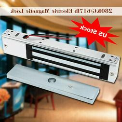 Door Electric Magnetic Lock 280KG 600LB Holding Force For Ac