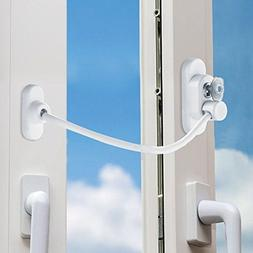 SLC Window Door Restrictor Cable Security Lock Key Baby Chil