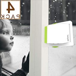 4 Pack Sliding Glass Door Locks for Child Safety, Baby Proof