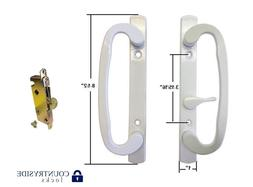Sliding Glass Patio Door Handle Set with Mortise Lock Body O