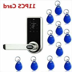 Keyless Digital Electronic Code Keypad Entry Door Lock Home