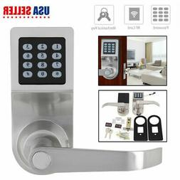 Smart Keyless Digital Door Lock Electronic Security Entry Pa