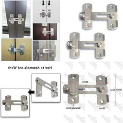 Alise Stainless Steel Gate Latch Door Holder Flip Pet Safety
