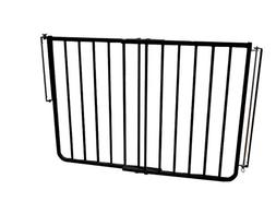 Cardinal Gates Stairway Special Outdoor Pet Gate -Black and