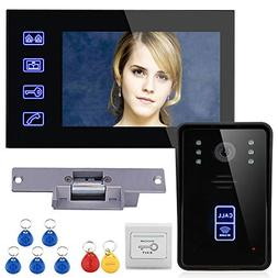 tft rfid door phone intercom