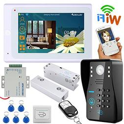 """MAOTEWANG 7"""" TFT Wired / Wireless Wifi RFID Password Video D"""