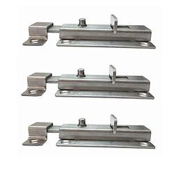 douper Thickened Stainless Steel Spring Barrel Bolts Pack of
