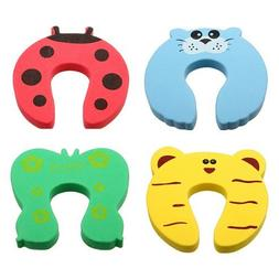4pcs Toddler Baby Safety Helper Doorstops Guard Lock Stopper