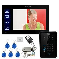 "Ennio Touch Key 7"" Lcd Video Door Phone Intercom System Wth"
