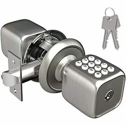 TURBOLOCK Multi-Function Electronic Door Knob With Lock And