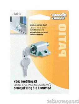 Prime-Line Products U 9861 Push-in Sliding Door Keyed Lock,