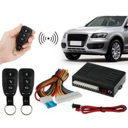 Universal Car Door Lock Keyless Entry System Auto Remote Cen