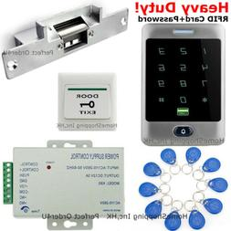 US Waterproof RFID Card+Password Door Access Control System+