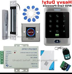 US Waterproof RFID Card+Password Door Access Control +Magnet