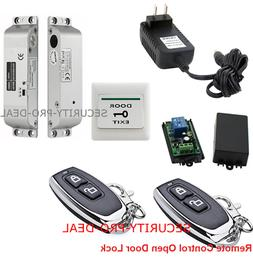 USA Door Access Control System With Electric Drop Bolt Lock+