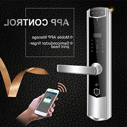 AUTOOL Wireless Wi-Fi Smart Door Lock With Video Peephole Do